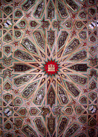 Ceiling with Signa of the Queen