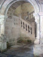 Etherial Staircase from long ago Estabane Monastery