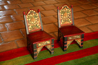 Carved Children Chairs