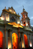 Cathedral in Salta at Twilight
